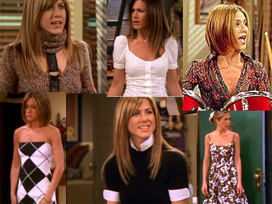 Elements of Rachel Green's Style. Neutrals. Most of Rachel's outfits are ...